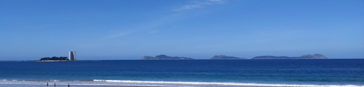 Gran azul. #RiaDeVigo #Galicia
