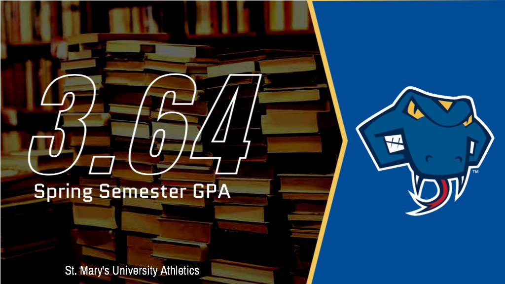 Another record-breaking semester by our Rattler student-athletes! A combined 3.64 spring GPA is highest on record! 26 students with a 4.0 104 students with a 3.5-3.9 34 students with a 3.0-3.49 #StudentAthlete #FangsOut
