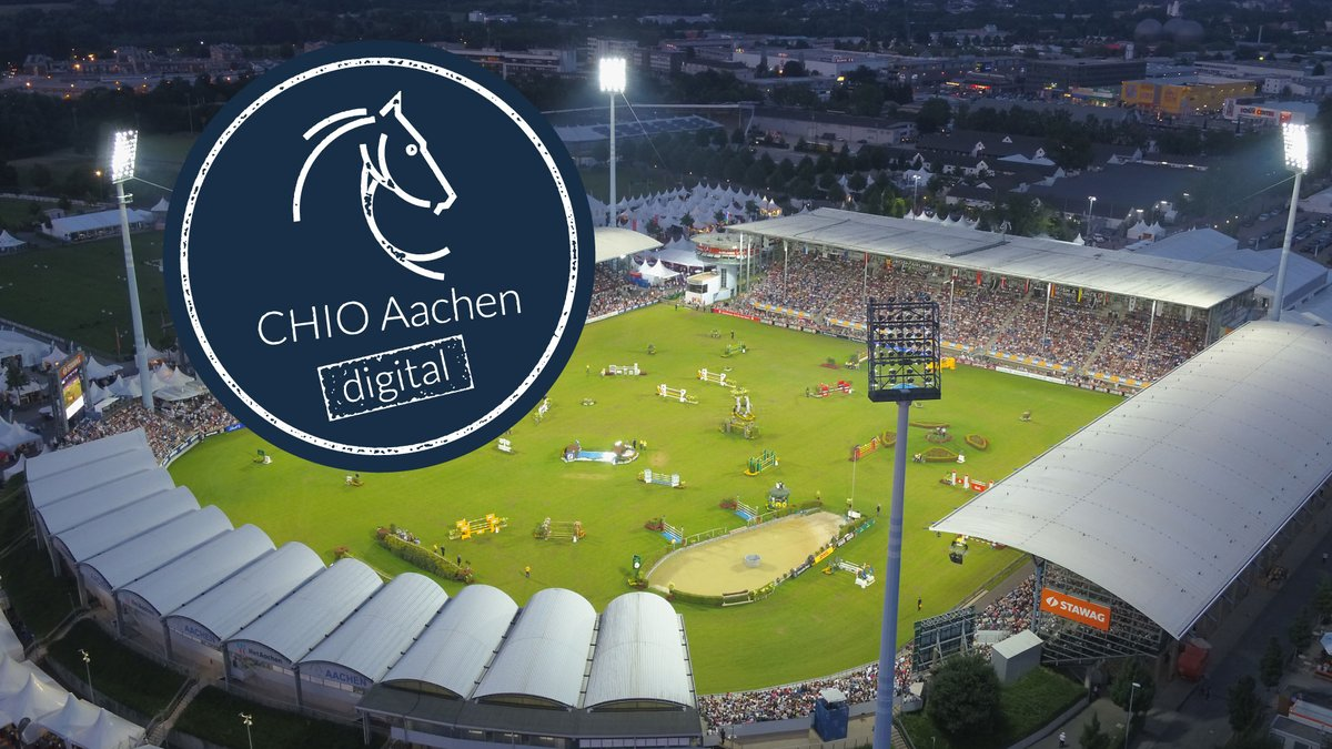 "This year, we will have a very special edition of CHIO Aachen   The ""CHIO Aachen digital"" will be held from August 4th-9th, 2020.  More information on our website: https://www.rolexgrandslam.com/en/Grand-Slam/News/CHIO-Aachen-digital-August-4th-9th-2020.html?fbclid=IwAR2ytkLfNM0uPdX8TqQvuiTTFk9lnEcMnH9VXkyTdXizfzPiUwfFNau0Ogk …  #StrongerTogerther #jumpintohistory #rolexgrandslam #thequestforexcellence #showjumping pic.twitter.com/9rKF30RBdx"