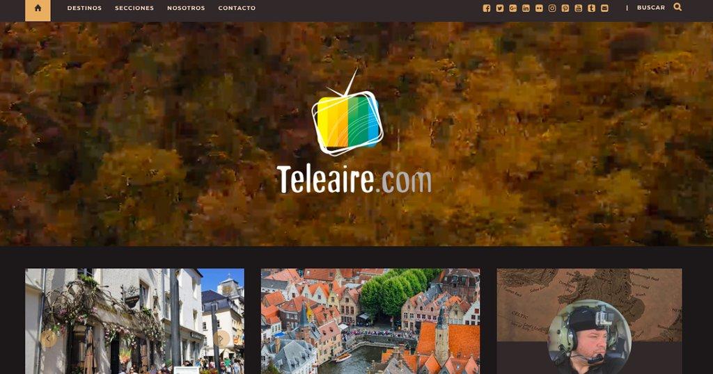 Les invito a descubrir el mundo a través del portal en español de contenidos audiovisuales relacionados con #viajes y #turismo http://Teleaire.com #aventura #travelblogger #viajar #visitargentina #travelphotography #traveltips #wanderlustpic.twitter.com/ljh8ZNKqf9