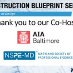 Image for the Tweet beginning: Thank you @AIABaltimore and @engineersinmd