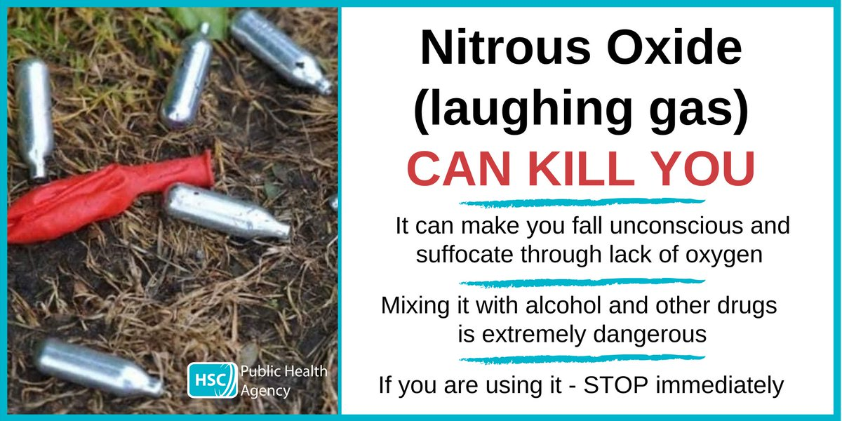 We have been alerted to a number of nitrous oxide canisters being discarded. Nitrous oxide is extremely dangerous. Please don't inhale nitrous oxide – it could kill you. If you find any of these canisters, call your local council to inform them and they can dispose of them.