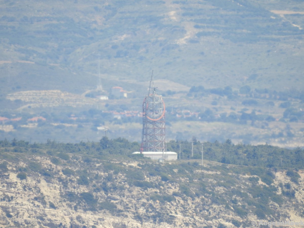 Radar on the top of #Turkish VTS installation in #Chios Strait south of #Cesme port repaired today and is back in service. pic.twitter.com/Pmj4nOtjyv