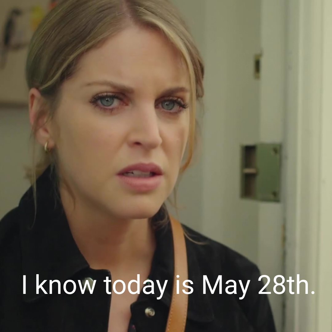 Everyone needs a friend who remembers *your* May 28th. @amyhuberman created, wrote, and stars in the quirky, life-affirming Irish comedy Finding Joy. Check it out now ➡️ acorn.tv/findingjoy