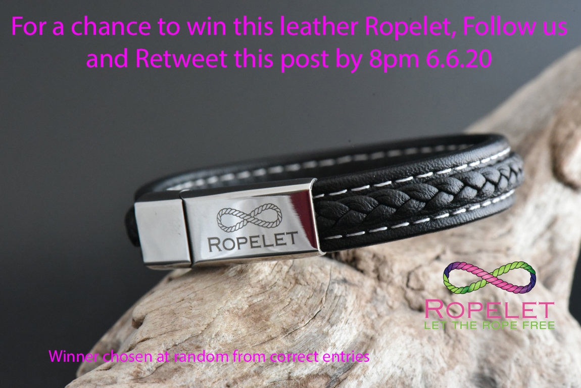 Heres our latest #Competition , follow us and Retweet this post by 8pm 6.6.20 for a chance to #win this stunning leather Ropelet from  . Check out our amazing UK made bracelets, perfect for fathers day #bracelet #style
