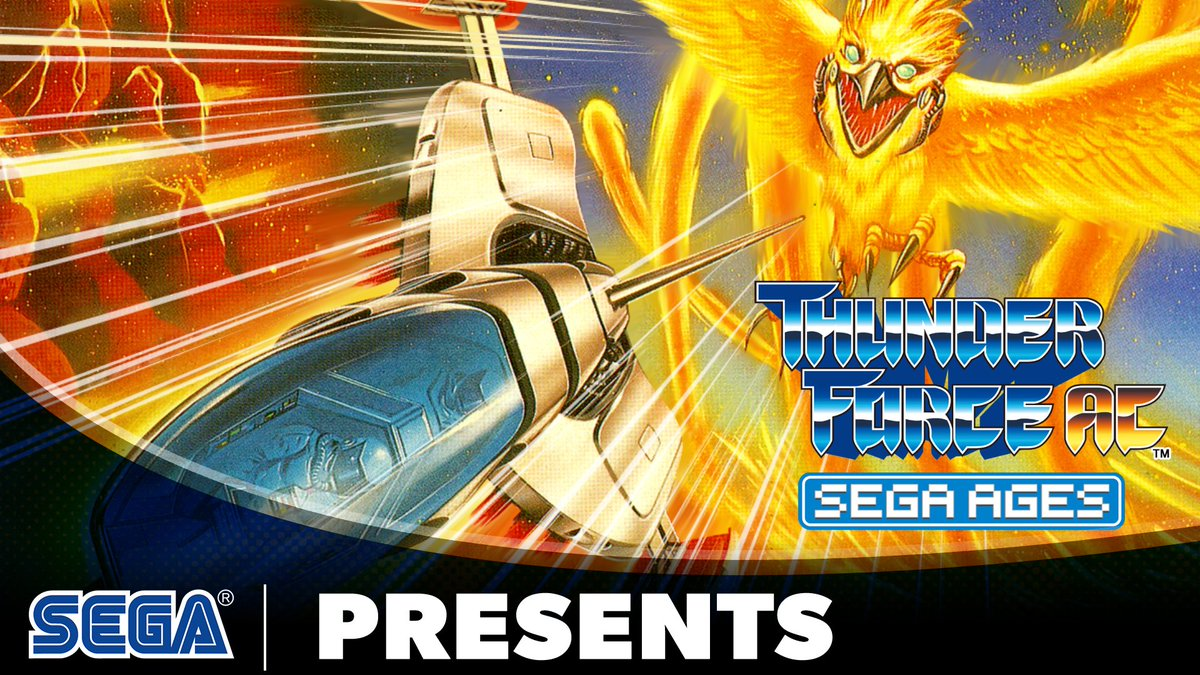 Set the galaxy ablaze in SEGA AGES Thunder Force AC, now out for Nintendo Switch!  From its breakneck gameplay to its intense soundtrack, Thunder Force AC is the perfect companion to your Switch library.