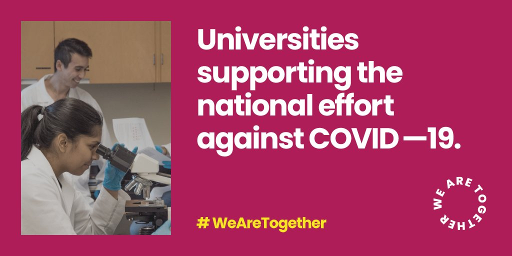 ❕ Tracking #Covid19, advising world leaders, predicting the outbreak's future, developing digital platforms for community-based care, and more @uclnews are helping to address the challenges facing society as a result of the pandemic #WeAreTogether 👉 loom.ly/MO031OE