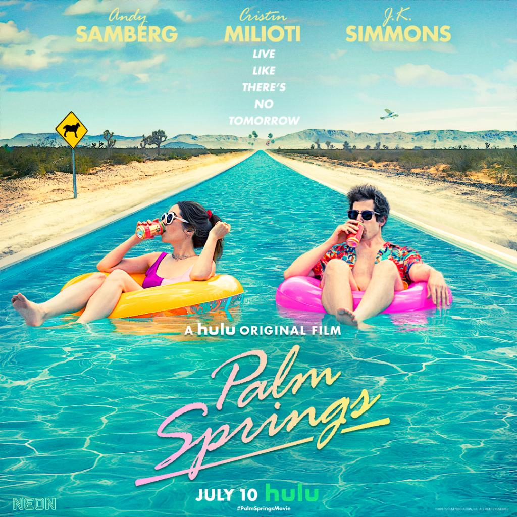 Stuck in Palm Springs  #PalmSpringsMovie premieres July 10.<br>http://pic.twitter.com/EAmAF2zXWs