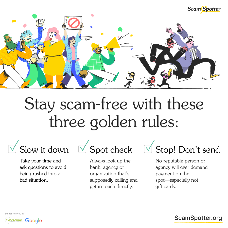 Scams are on the rise. A few simple rules can help you save your time and money → https://t.co/aFZveCtMOw https://t.co/IjAHvpiFU4