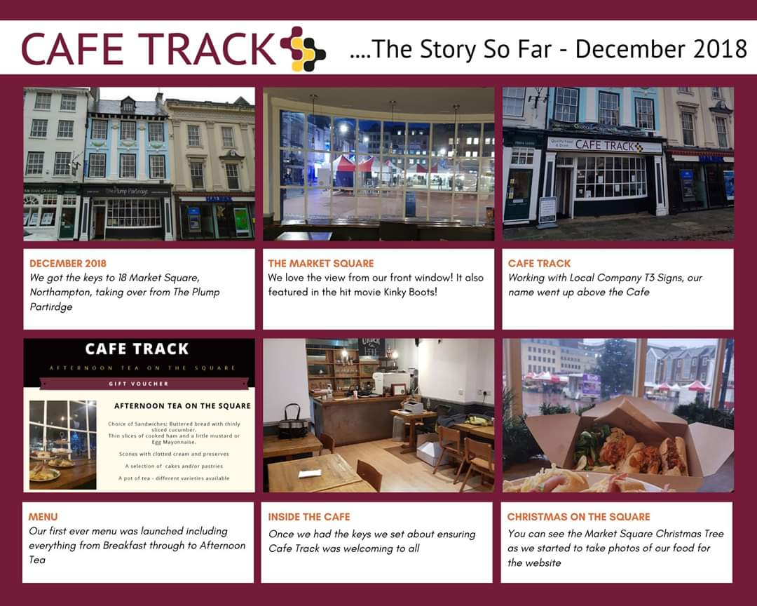 We will be sharing our #storysofar with you over the next few days. We got the keys in December 2018 and set about getting ready to open #autism #employment #northampton