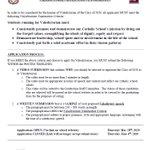 Image for the Tweet beginning: Gr. 12's - Valedictorian Applications