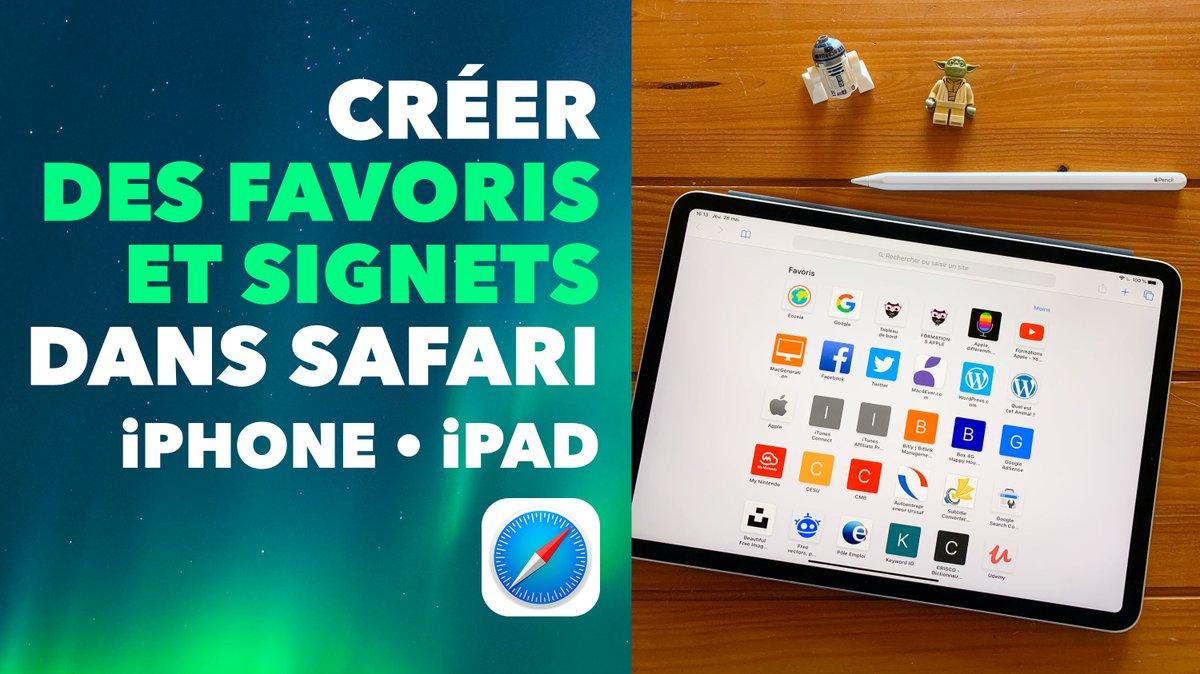 ⭐️ Nouvelle vidéo ⭐️  6 minutes 45, c'est juste le temps nécessaire pour créer, organiser et gérer vos favoris et signets comme un Jedi dans Safari \o/  ⭐️ https://t.co/QWQ76THVd5  #Apple #iOS #iPhone #iPad #Tech #tuto #Safari #iOS13 #eLearning #Sorganiser #Jedi #RTisLove 🥰 https://t.co/FiZCfwXSp9