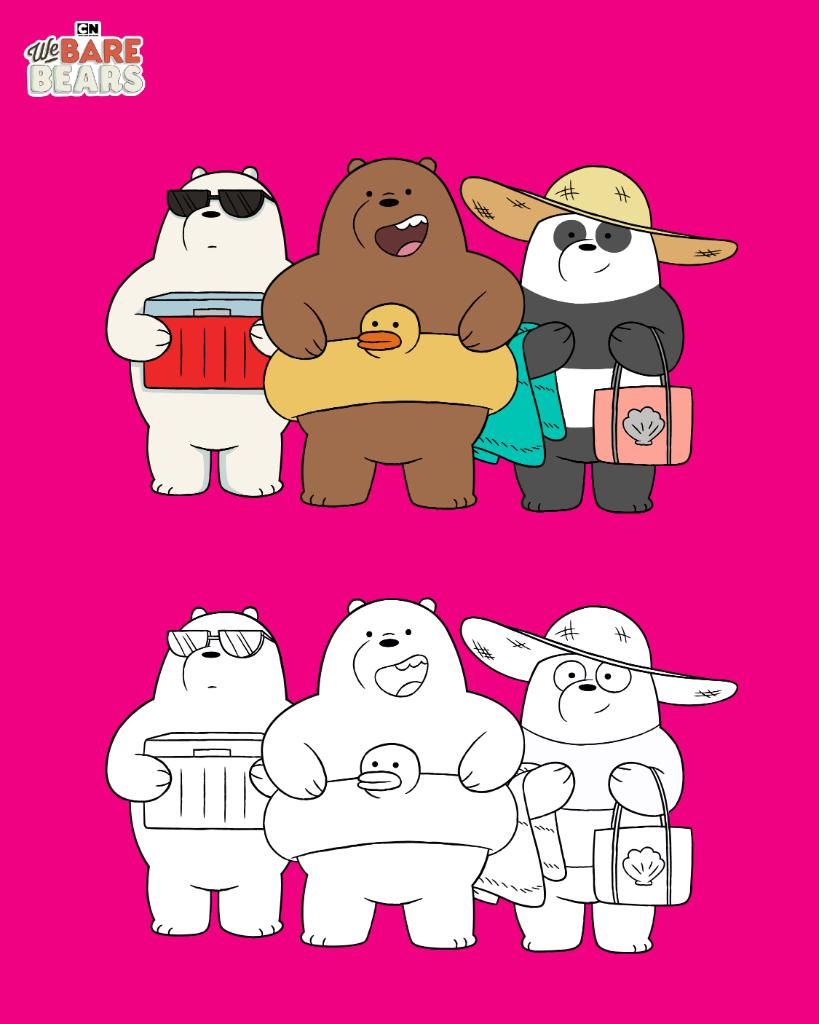 Coloring Time! We have 12 fun #webarebears coloring pages so you can stay creative! Download the pages here 👉cartn.co/WeBareBears-Co… #StayCreative #CNcheckin #cartoonnetwork #coloringpages