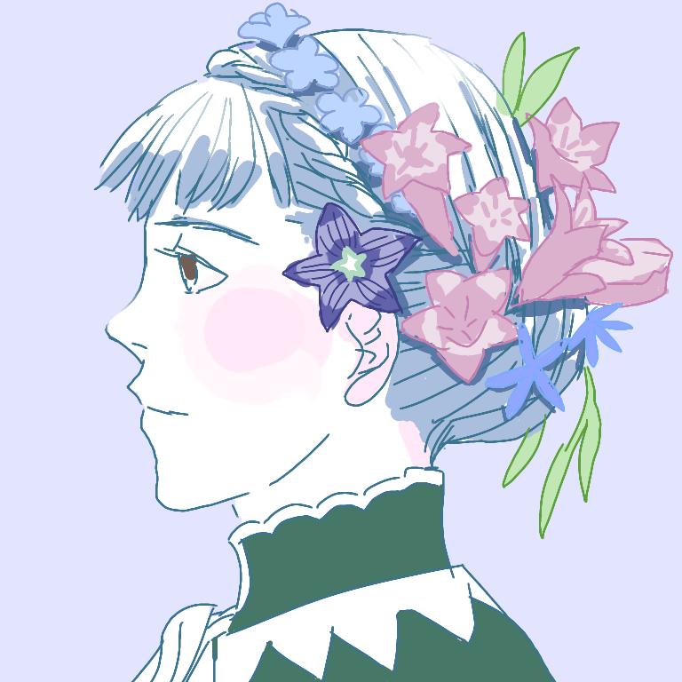 マリアンヌの髪型は生花をたくさん飾れそうという再投稿 #FE風花雪月
