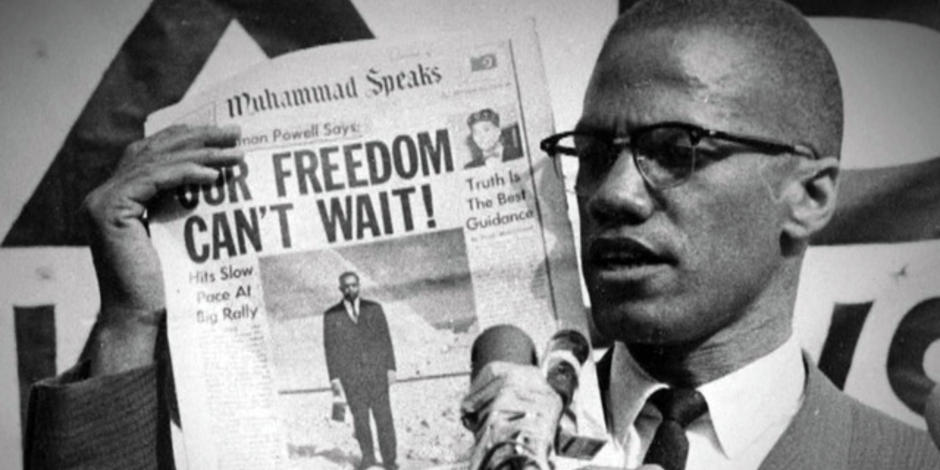 """""""If youre not careful, newspapers will have you hating the people who are being oppressed, and loving the people doing the oppressing."""" —Malcolm X"""