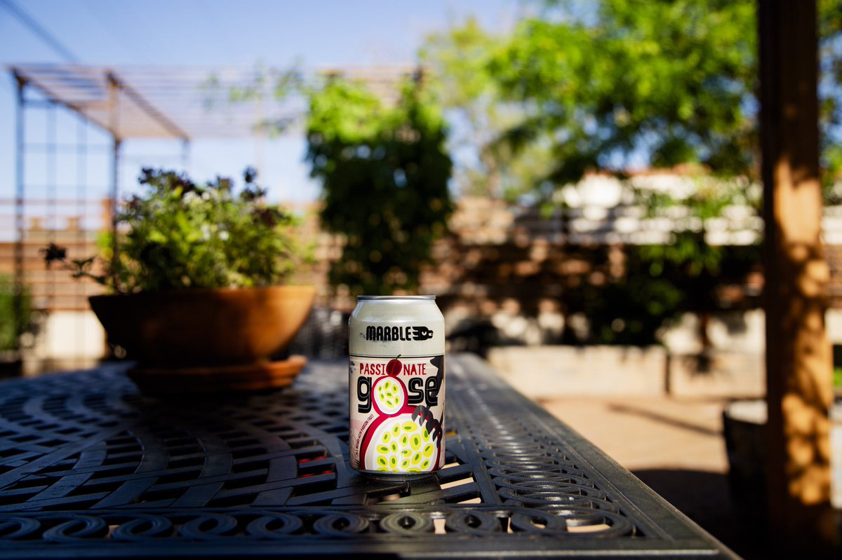 Backyard beers don't get better than this!  ⠀⠀ 🎆TODAY🎆 ⠀⠀ Pick up a 6-pack of Passionate Gose from any taproom location for $8! ⠀⠀ Fantastically fruity & bright, this sour ale is seasoned with passion fruit & a hint of salt! #kettlesour #gose #nmbeer https://t.co/4cCkx80iMB