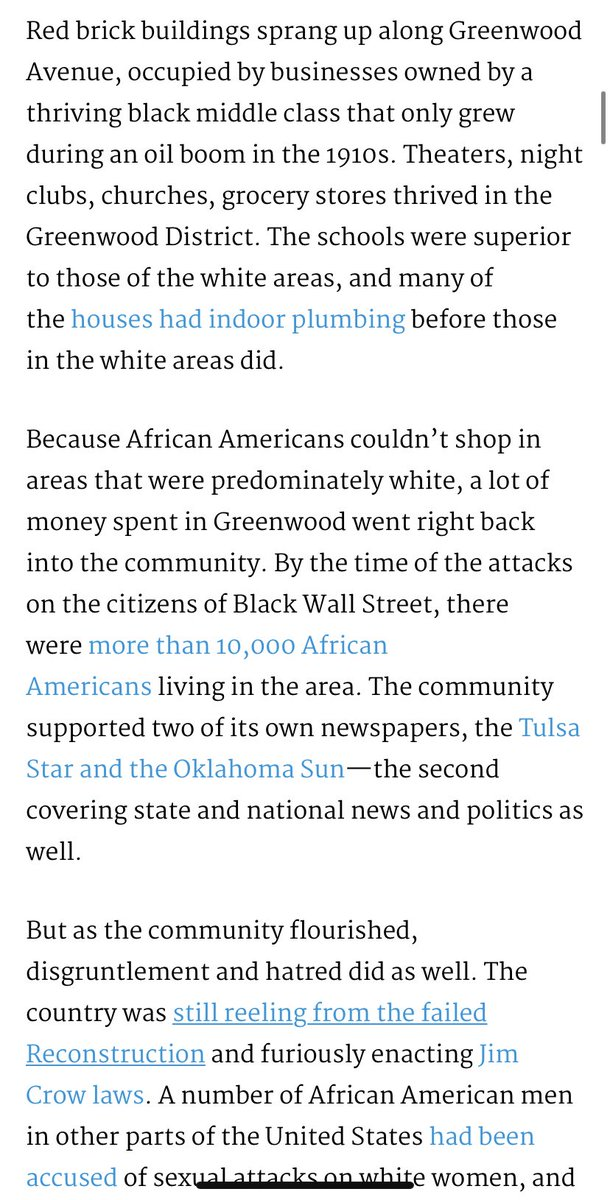WHITE PPL MAD AB TARGET LIKE YALL DIDNT BURN DOWN A THRIVING BLACK TOWN? #BlackWallStreet . Spring 1921 $30mil damaged in Tulsa,OK. Many black owned biz, wealthy black families. White people couldn't stand to SEE IT. They came in mobs & killed,burned,& beat them. Fuck y'all. <br>http://pic.twitter.com/iR9C3EFHzy