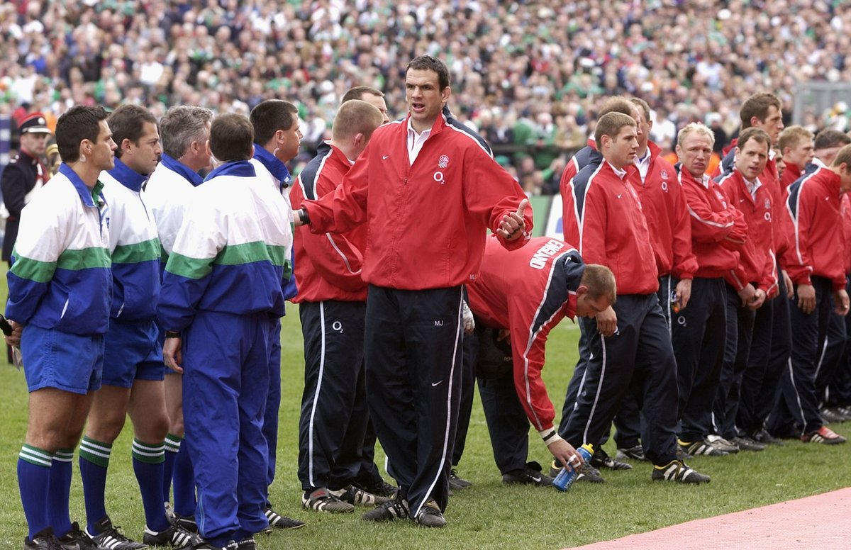 test Twitter Media - Martin Johnson wasn't moving for anyone ❌  🏴󠁧󠁢󠁥󠁮󠁧󠁿 🇮🇪 Watch our 2003 match against @IrishRugby this Saturday from 19:30 BST 💻  Available on https://t.co/2D5OJ1tc5l or Facebook/YouTube 🌹 https://t.co/JucTvihxxg