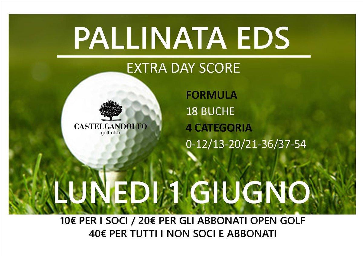 Metti alla prova il tuo Hcp all'Extra Day Score con la pallinata del prossimo 1º Giugno.  @Castelgolf #sun #sunny #sunnyday #sunnydays #sunlight #light #sunshine #shine #nature #golf #photooftheday #beautiful #beautifulday #golfer #summer #goodday #goodweather #bright #brightsun https://t.co/YLMxbEtk09