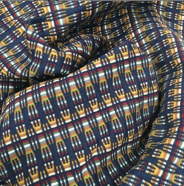 Fabric and yarn from @PoblanaLa #lapoblana #puebla #fabric #fabrics #fashion #fashionable #tela #telas #telapreteñida #telaspreteñidas #textil #textile #textiles #yarndyed #yarndyer #yarndyedfabric #shirt #jacket #jackets #dresses #bermuda #dobby #vistemexicanopic.twitter.com/haLDbEHSjR