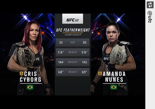 See #UFC250 Free Fight: #AmandaNunes vs #CrisCyborg https://t.co/sRWgPA3XE2 #UFC https://t.co/EA5yIpGsnd