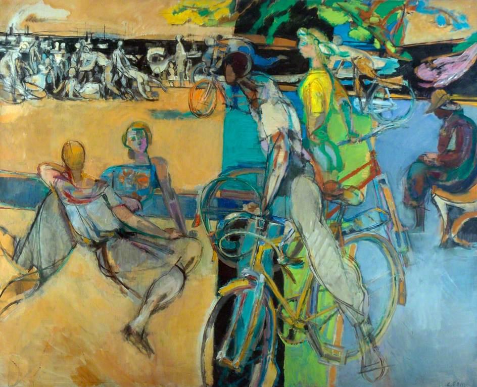 Summer Eclogue, Robert Medley (1905–1994). https://t.co/3EztmpfXMn