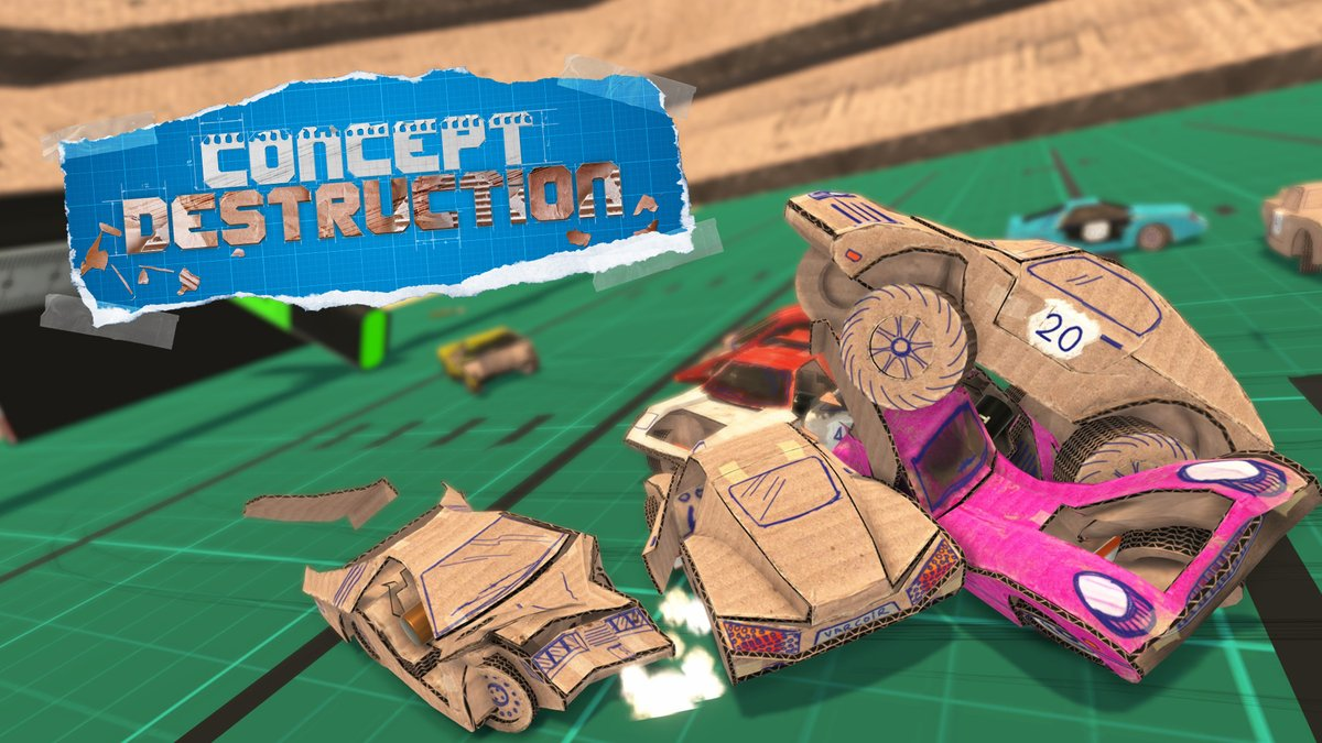 Concept Destruction is having a great reception, reviews are very positive and lots of people like it! Thank you!! ❤️  Let's celebrate with a #giveaway! I've got 2 PS4 Keys for the game: 1 NA & 1 EU.  Retweet this & follow @projotw to enter!  Ends: May 30th at 18:00 (UTC)