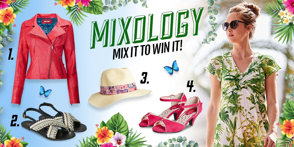 💚MIX IT TO WIN IT!💚 To enter, simply pick your favourite accessory numbered 1, 2, 3 or 4 to mix with our Tea Party Dress and you could WIN! T&Cs apply - good luck folks! 😍