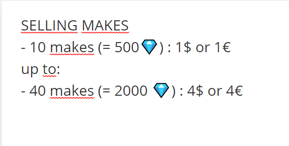 ♡ SELLING MAKES ♡  DM me for more info/ if you're interested  - can make once for free as proof!   - PayPal Only  - can make any campaign  #mxm #makeformake #StopWishingStartMaking #NowMaking #make4make #m4m #makexmake #MyMusicTaste #mmt #MMT https://t.co/cxunOLagmm