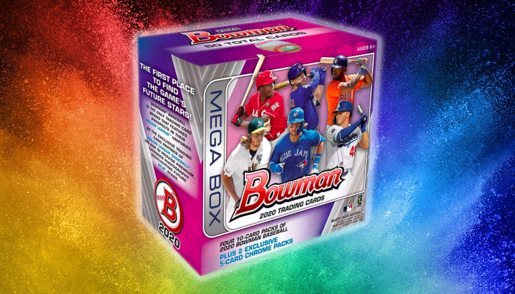 2020 Bowman Mega Box and Exclusive Chrome Baseball Cards On the Way dlvr.it/RXXP4t