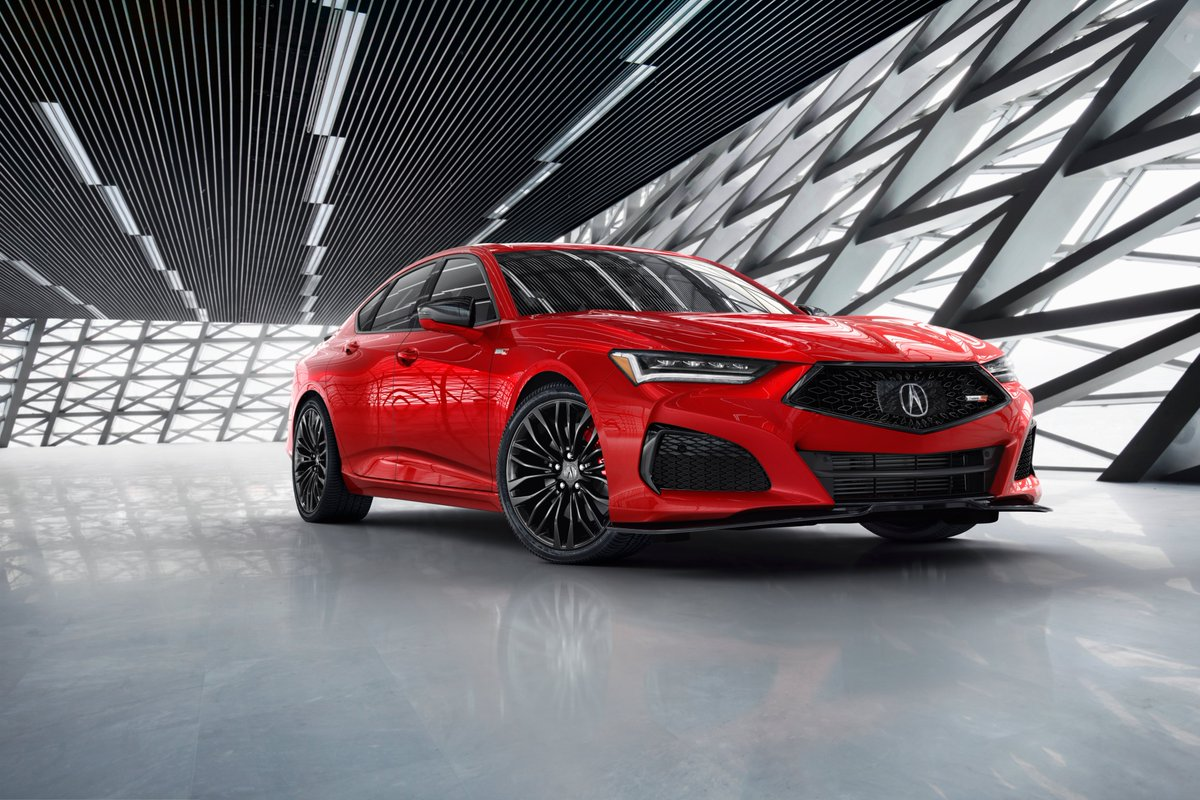 Thread: First look (leakers be damned!) at the 2021 Acura #TLX TLX. When you see this thing on the road, the first thing that will catch your eye is its proportions. The new car is wide (+2.2 in.) and low (-0.6 in.) with an elongated dash-to-axle (+7.8 in.).