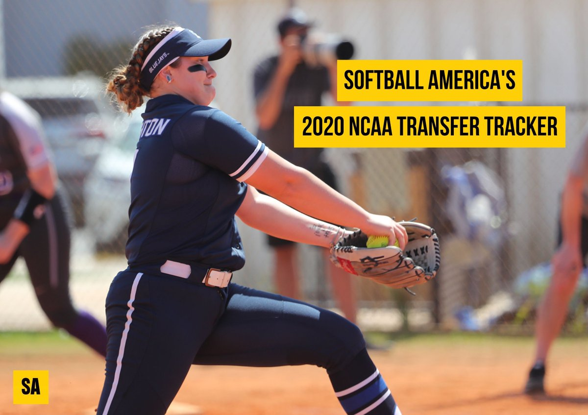 New destinations have been added for college softball players on the move this spring. 👀 buff.ly/2wK0GjJ
