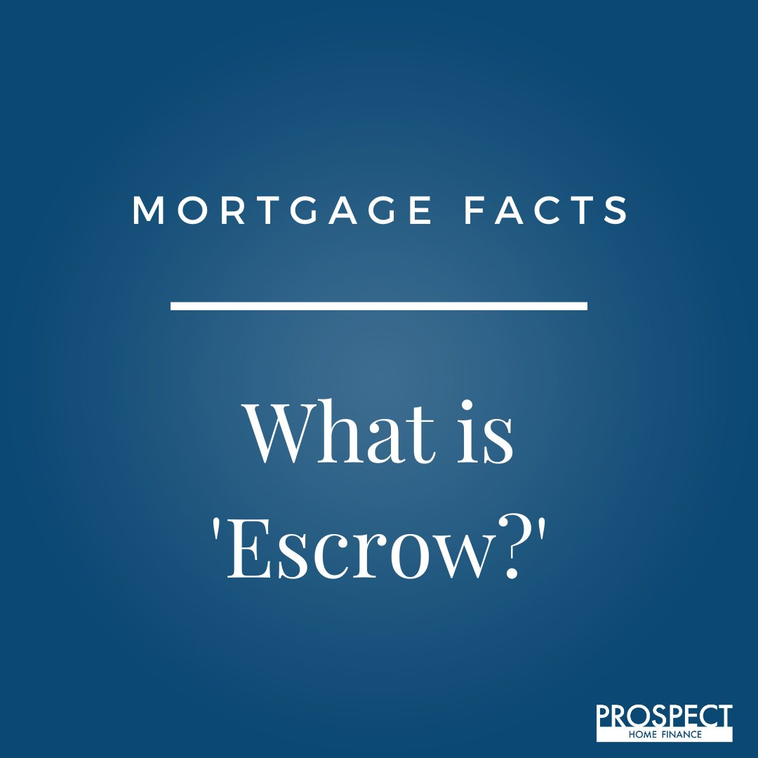 """A Neutral third party who carries out instructions of both the buyer and seller to handle all the paperwork of settlement or """"closing""""  Call or email us about any questions you have on mortgages.  (858) 605-0952 info@prospecthomefinance.com #mortgage #mortgages <br>http://pic.twitter.com/QuaE0rwjcR"""