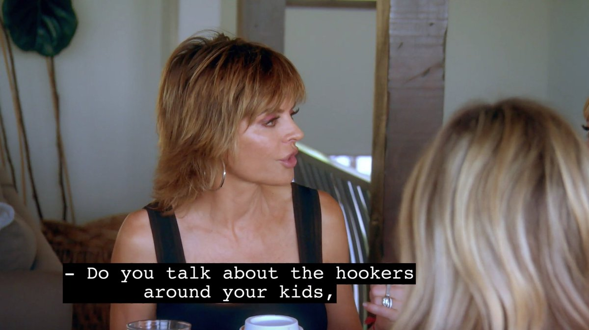 You can't say Rinna doesn't work for her paycheck. #rhobh