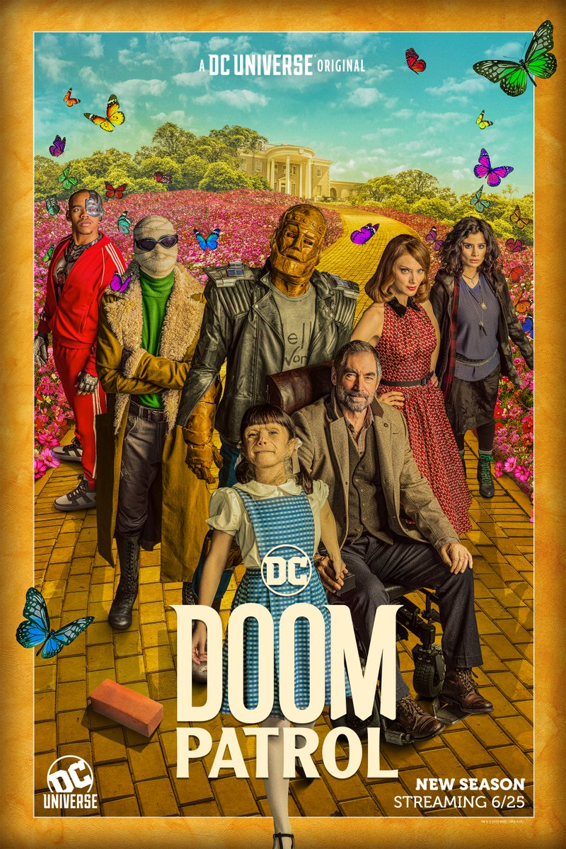 Weve got our first look at Dorthy Spinner in a new poster for #DoomPatrol Season 2, streaming June 25.