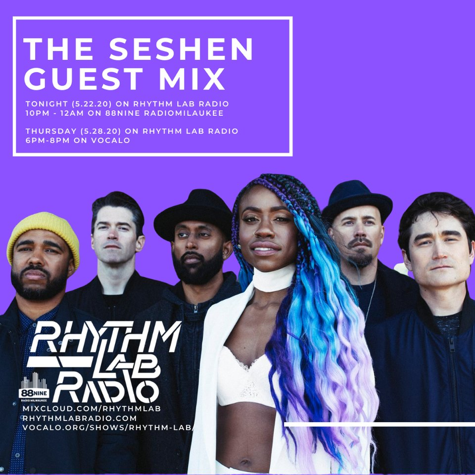 Mix alert ...@theseshen's @rhythmlabradio guest mix will air TONIGHT on @Vocalo at 6 PM CST...tune-in here: https://buff.ly/2ZDf9hb pic.twitter.com/aPlzaEoIdT