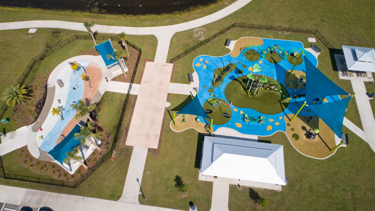 Imagine the perks of a seamless playground, water play and shade design! With the addition of SkyWays and Aquatix, Landscape Structures is now your go-to for all three! 👏🤸♂️ #play #playgrounddesign #waterplay #splashpad #landscapearchitecture #inclusiveplay @playlsi https://t.co/BPSeXeX7qT