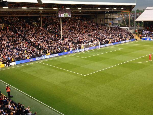 ON THIS DAY 2014: Scotland at Craven Cottage for a friendly against Nigeria #Tartanarmy