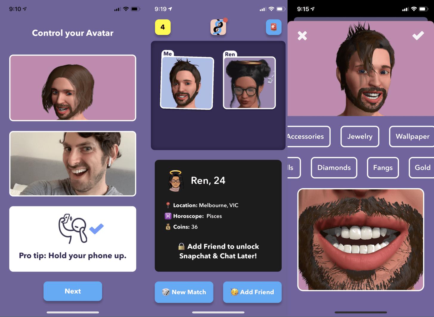 """科技趨勢 Josh Constine - SignalFire on Twitter: """"Itsme is dating in the multiverse.  I wrote about how it turns a selfie into a customizable avatar that you  video chat through https://t.co/syqjZdhE0e… https://t.co/8OYWZYbSl9"""""""