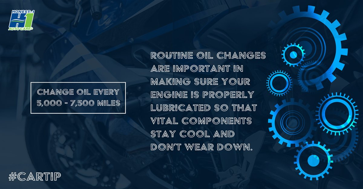 Engine maintenance means staying on top of things. A simple oil check or change decreases the risks of unwarranted engine repairs, saving you time and money. #QualityService #HappyThursday #SafetyisOurPriority #CarTrouble #Honest1Difference #CarService #EngineRepair #JohnsCreekpic.twitter.com/pwj5eXN8Hq