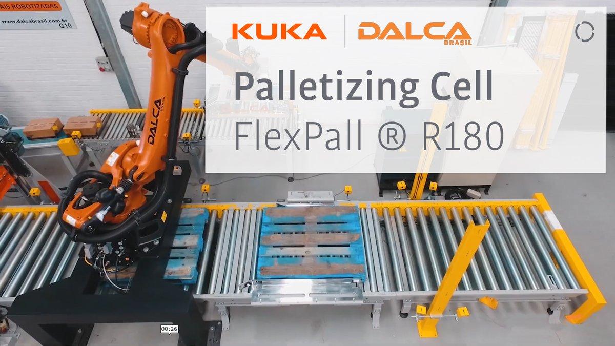The palletizing process is so satisfying to watch.  #pallets #palletizing #Brasil #robots #robotics #automationpic.twitter.com/G52cXGCKxU