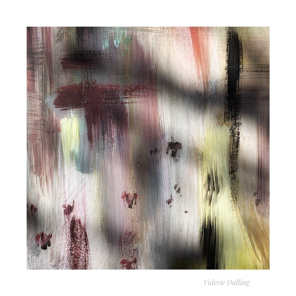 I found myself a nice little shady spot in the garden this afternoon and got the paintbrush out...In the Shadows. #abstract #art #photography #lovetopaint
