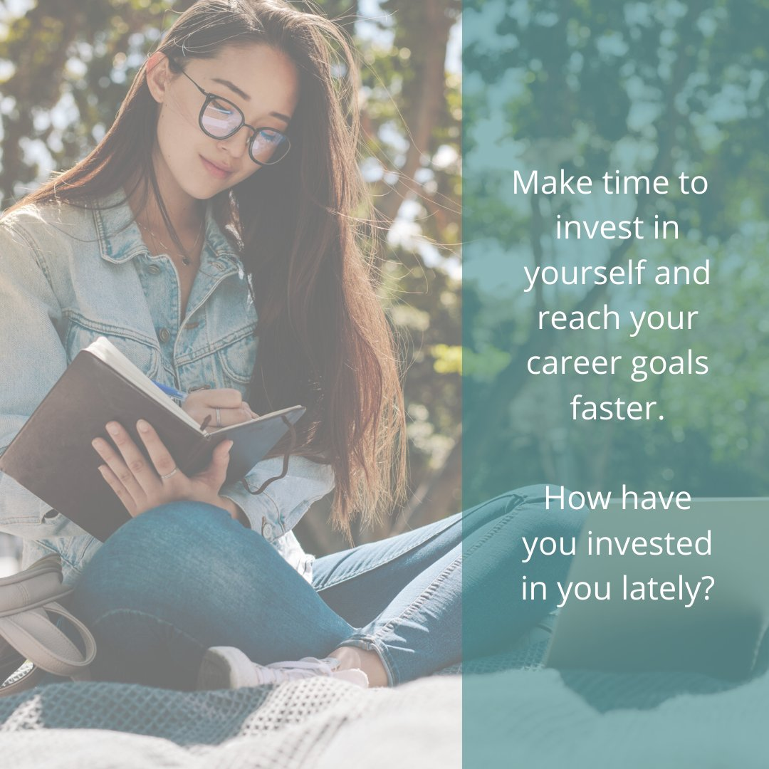 Learning something new or adding to your skills with a relavant course is a great way to invest in yourself towards your career goals.  #investinyourself #careergoals #careercoach #careers #careercoach #potd #qotd #quoteoftheday https://t.co/lsIooI9NCn