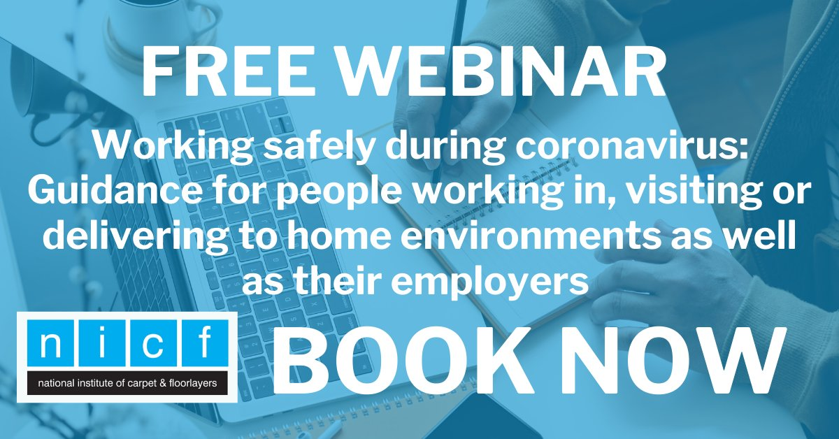 Free webinar - Tuesday 2 June - visit the NICF blog for full details nicfltd.org.uk/Blog/Working-s…