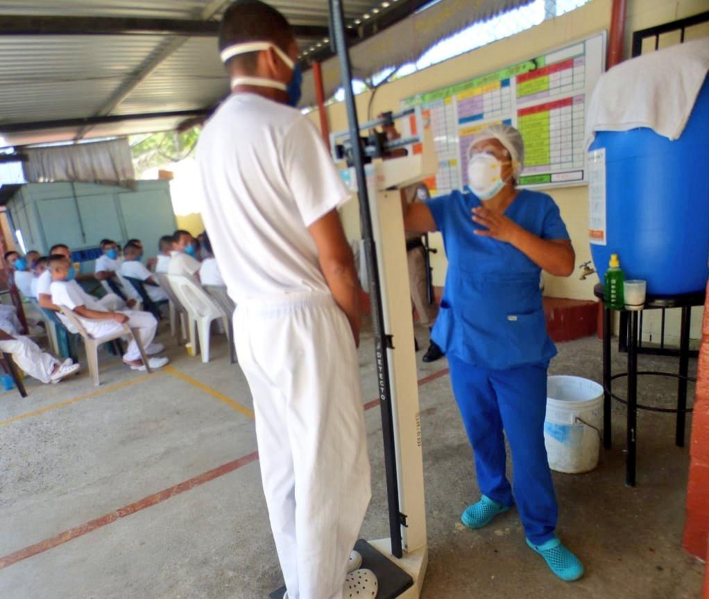 83 contagiados por coronavirus en prisiones del país