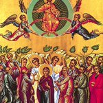 Image for the Tweet beginning: The Feast of the Ascension