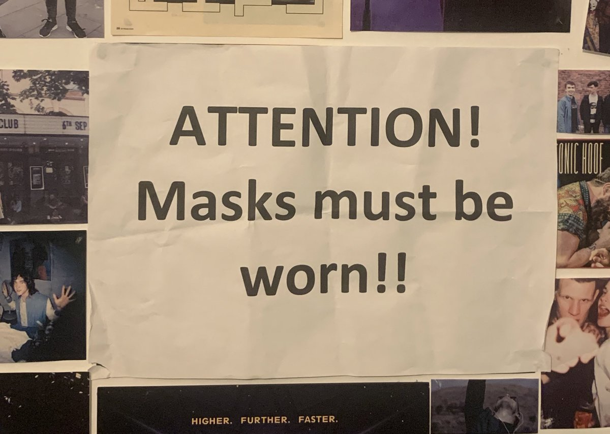 i took this off the wall at sundara's Halloween show in 2018 and it's now more relevant then ever! https://t.co/7XqjXwHDvB