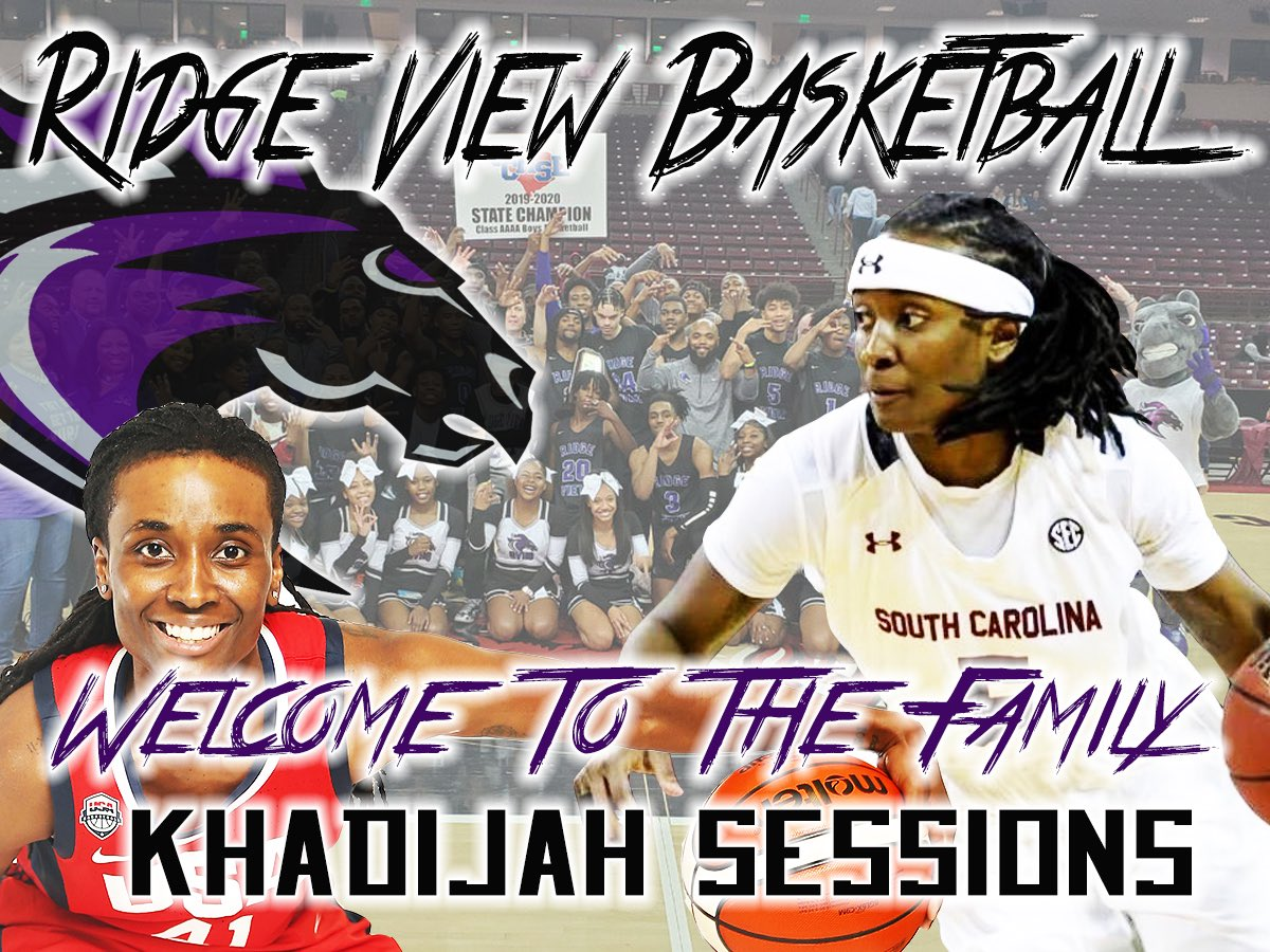 It comes with great pleasure to announce that @Ksessions_05 will be joining @RidgeViewHoops coaching staff. We look forward to the knowledge & experience she will bring to our program as a player, olympian, professional & now, as a coach. #Family #🏀inSessions  #NextLevel https://t.co/xviDl4ZUw4