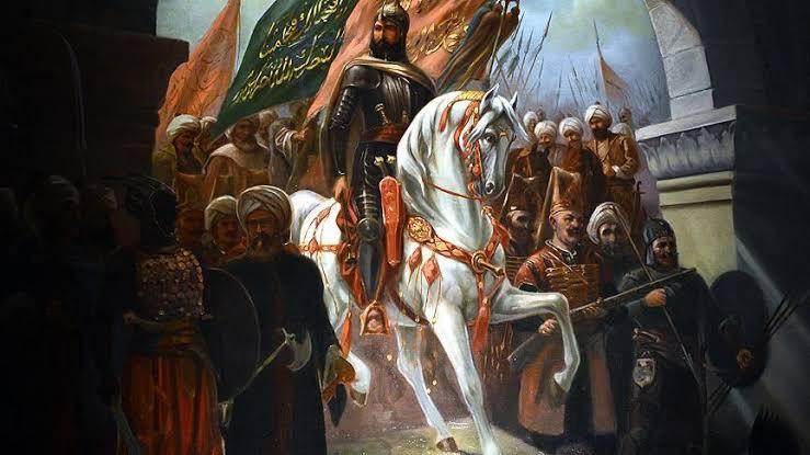 Benim kudretimin ulaştığı yerlere onların hayalleri bile ulaşamaz. Atamız Fatih Sultan Mehmet Han #istanbulunfethi