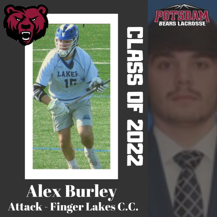 Today the BEARS welcome Alex Burley from Canandaigua HS and Finger Lakes Community College!! #section5 #athlete pic.twitter.com/Aa1E0DToR2